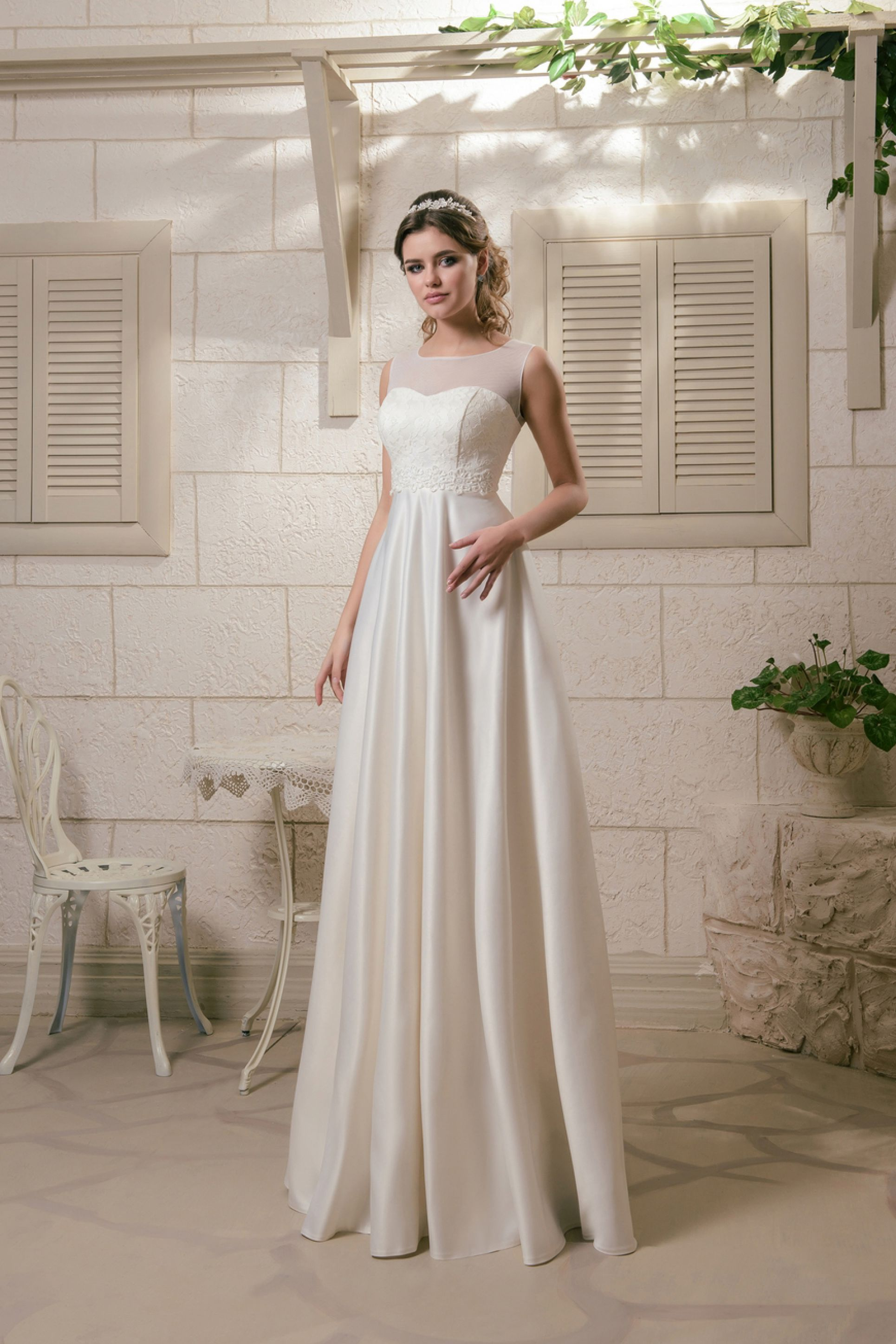 5dabaff0d53 Νυφικό «Roma» - Νυφικά Πολιτικού Γάμου   Νυφικά Είμαι Νύφη