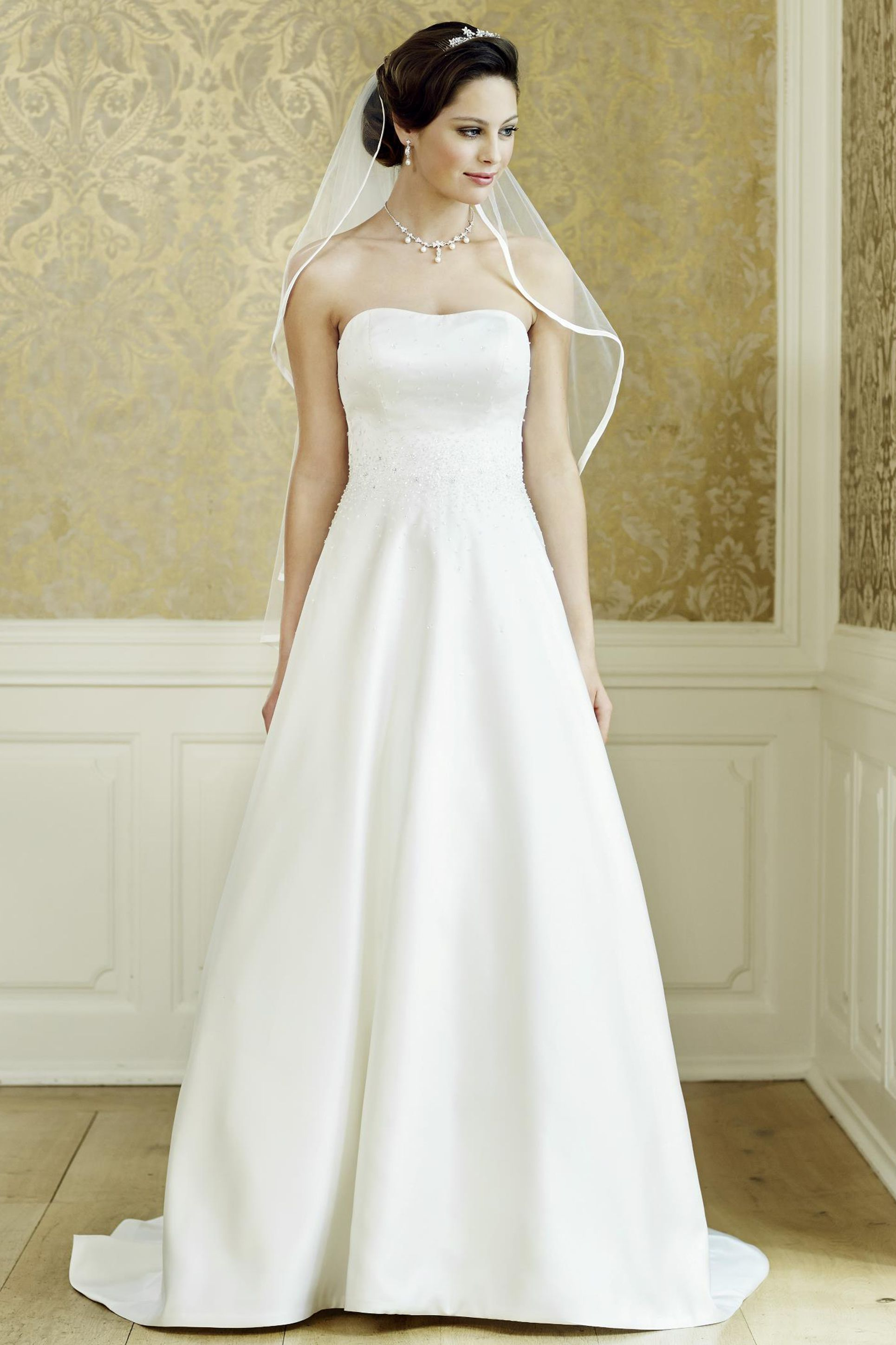 44db3df3725 Νυφικό «Lady» - Νυφικά Θρησκευτικού Γάμου   Νυφικά Είμαι Νύφη